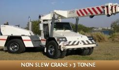 Licence to operate a non-slewing mobile crane (greater than 3 tonne capacity)