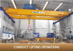 Conduct Lifting Operations - (Other Training)