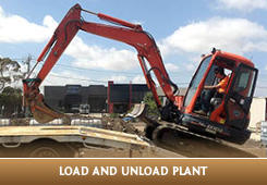Load and unload plant