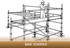 Licence to erect, alter and dismantle scaffolding basic level