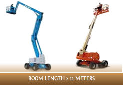 Licence to operate a boom type elevating work platform (boom length 11 metres or more)