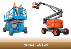 Operate Elevating Work Platform